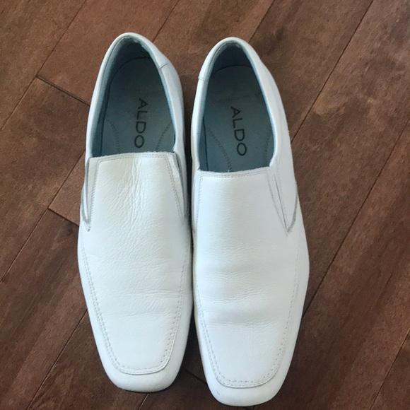 2870f43b401 Aldo Other - Aldo Men s white leather dress shoes size 45(US12)